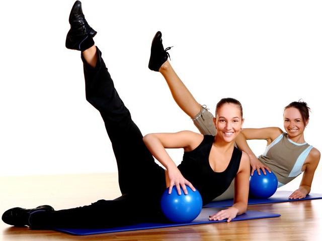 Фитнес товары: гантели, коврики, медболы, степ-платфоры, бодибары, фитболы,