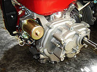 Бензиновий двигун Bulat BT 190F-L (16 к.с.), з редуктором і електростартером