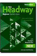New Headway 3rd Ed Beginner Teacher's Book & Teacher's Resource DVD Pack