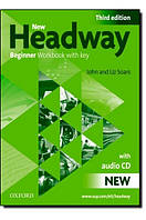 New Headway 3rd Ed Beginner Workbook with Key and Audio Pack