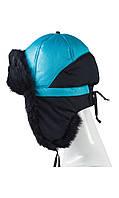 Детская зимняя шапка с ушками 50-52
