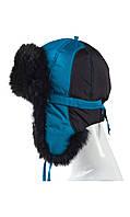 Зимняя шапка с ушками 50-52