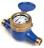 Счетчик воды (водомер) мокроход, тип WM, Ду-15,Py16, Q=1,5 м3/час, для холодной воды муфтовый, PoWoGaz