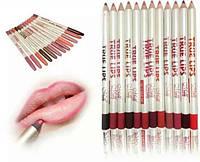 Набор из 12 карандашей для губ, фото 1