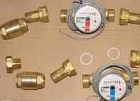 Счётчики воды с обратным клапаном ЛК-15Г, Украина (Новатор)