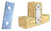 Плоское перфорированное крепление 135х2,0х55 для деревянных конструкций