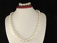 Набір з білого перлів (В065), фото 1