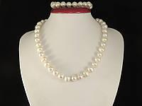 Набір з білого перлів (В07), фото 1