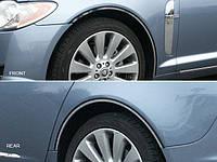 Хром накладки арок Jaguar XF 2009-2013