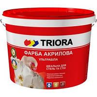 Краска интерьерная ультрабелая TRIORA  10л