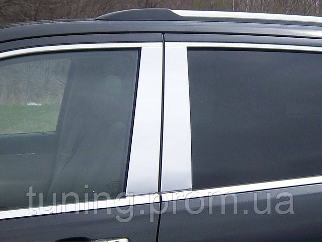Хром-накладка дверных стоек Jeep Grand Cherokee 2011-2013