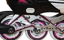 Роликовые коньки раздвижные Z-823Р, фото 3