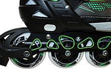 Роликовые коньки раздвижные Z-9001G, фото 3