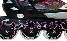 Розсувні роликові ковзани Z-9001Р, фото 3