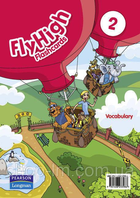 Fly High 2 Vocabulary Flashcards (набор карточек)