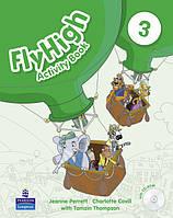 Fly High 3 Activity Book and CD-Rom Pack (рабочая тетрадь/зошит)
