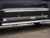Накладки на пороги Jaguar XF 2009-2013