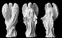 Скульптура Ангел скорбящий из литьевого мрамора 43 см