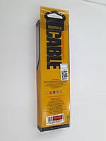 USB кабельRemax Super Lightning Black для iPhone/iPad/iPod. Только оптом! В наличии!