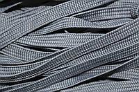 Тесьма ПЭ 10мм (100м) св.серый