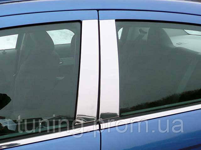 Хром накладка дверных стоек Chrysler 200 2011-2013