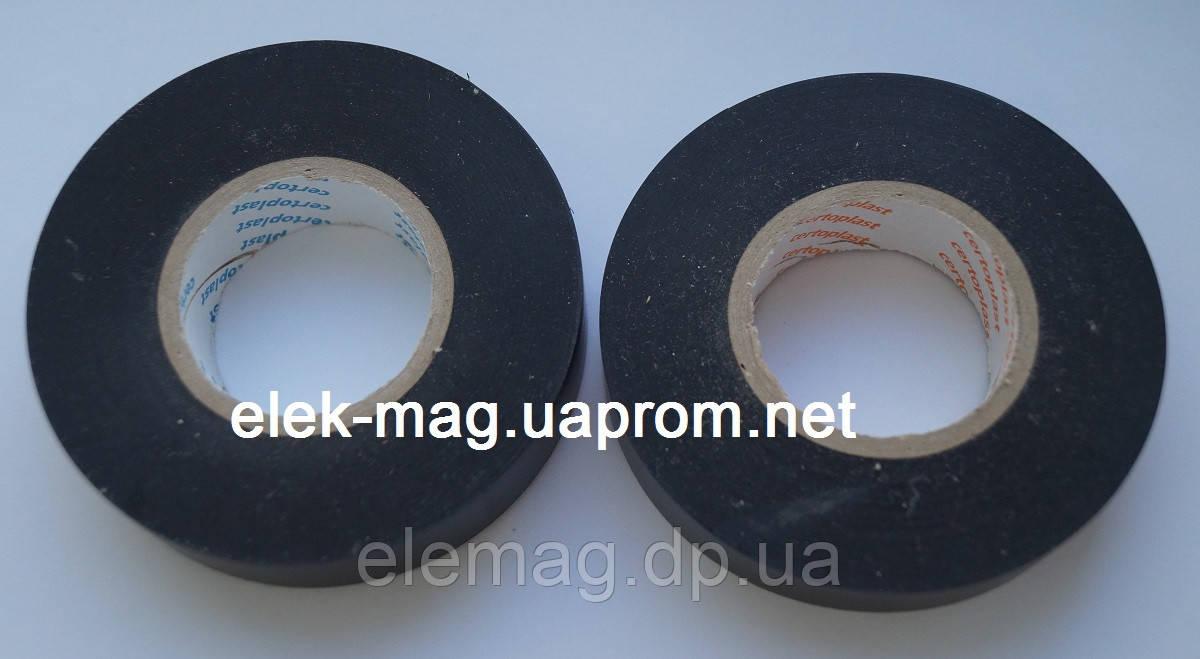Изолента certoplast ПВХ 33 метра