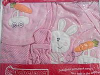 Подарочный набор для новорожденных 5 предметов, размер 0-3 месяца