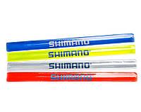 Светоотражающая лента, браслет SHIMANO., фото 1