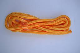 Скакалка гімнастична, тканина, довжина 3 метри.