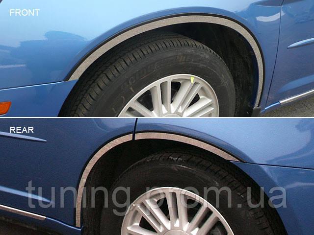 Хром накладки арок Chrysler 200 2011-2013