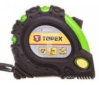 Измерительная рулетка TOPEX 27C345.   5 м х 25 мм магнитная с нейлоновым покрытием Киев.