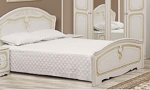 """Спальня , спальный гарнитур """"Луиза"""" 1.6м патина  Кровать 2 сп"""