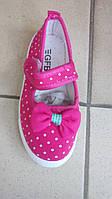 Туфельки для девочки текстильные 26-31
