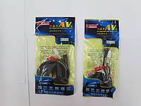 Аудио кабель 3.5-2RCA KCG-AV-3.0M. Только оптом! В наличии!
