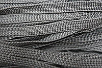 Тесьма ПЭ 10мм (100м) т.серый , фото 1