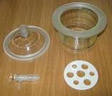 Крышка эксикатора с краном 365 мм (1-365), фото 3