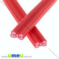 Палочка FIMO Бантик красный, 50 мм, 1 шт (DIF-015544)