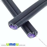 Палочка FIMO Крыло бабочки фиолетовое, 50 мм, 1 шт (DIF-015538)