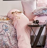Комплект постельного белья евро KARACA HOME 2017 сатин  DALEN MAVI