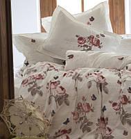 Комплект постельного белья евро KARACA HOME сатин SANDRA