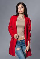 Женский кардиган. Код модели П-03-28-16. Цвет красный.