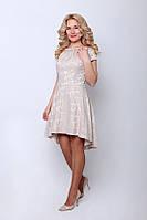 Нарядное женское платье стильного кроя