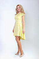 Красивейшее женское платье с удлиненной спинкой