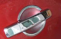 Хромированные накладки под ручки Nissan Qashqai 2007-2012