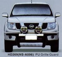 Дуга защитная передняя (кенгурятник) Nissan Navara 2004-2011