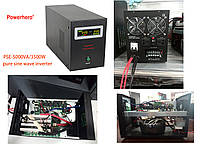 12V 500VA Powerhero PSE-500 инвертор ЧИСТАЯ СИНУСОИДА inverter