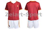 Форма футбольная детская ROMA (красно-белый)