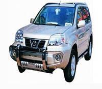 Дуга защитная передняя (кенгурятник) Nissan X-Trail 2001-2007