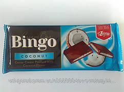 Молочный шоколад Bingo mleczna coconut 90 гр