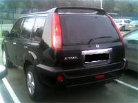 Спойлер Nissan X-Trail 2001-2007